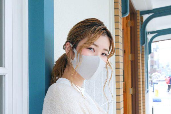 """【冬向けマスク】""""フェイクカシミアマスク"""""""